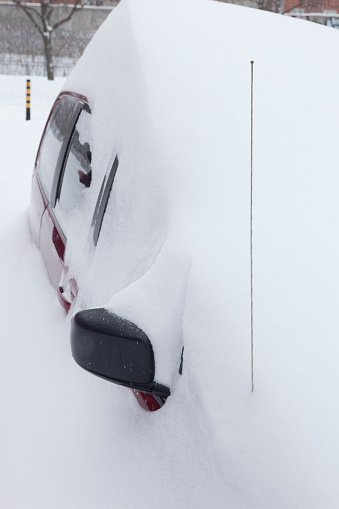 Snowdrift「Car after a Snow Storm」:スマホ壁紙(5)