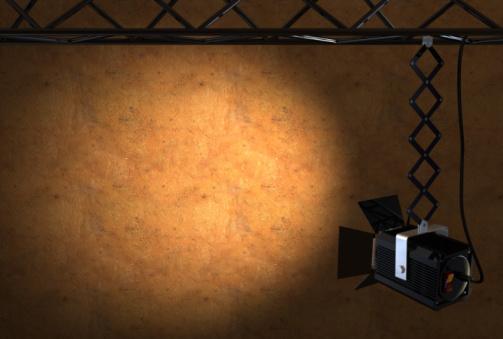 Start Button「spotlight on a wall」:スマホ壁紙(17)
