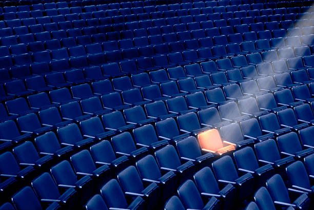 Spotlight on Seat in Auditorium:スマホ壁紙(壁紙.com)