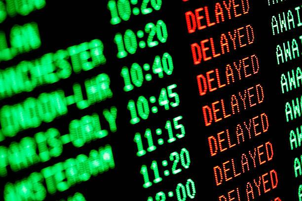 flight delays - delayed departures / arrivals screen:スマホ壁紙(壁紙.com)