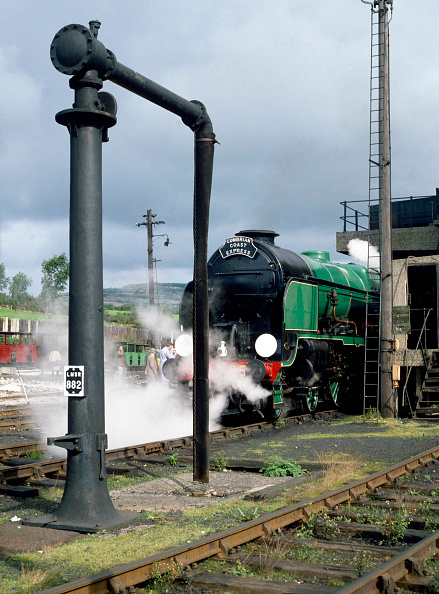 Pole「Carnforth. No.850 Lord Nelson at the coaling stage. 04.09.1980.」:写真・画像(17)[壁紙.com]
