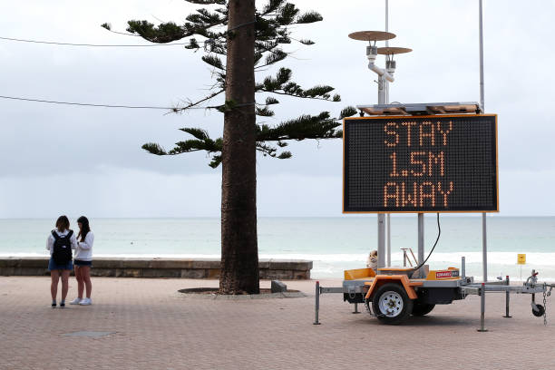 Australians React As Tough Restrictions Are Announced In Response To Coronavirus Pandemic:ニュース(壁紙.com)