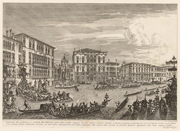 Etching「Views Of Venice: The Regatta」:写真・画像(0)[壁紙.com]