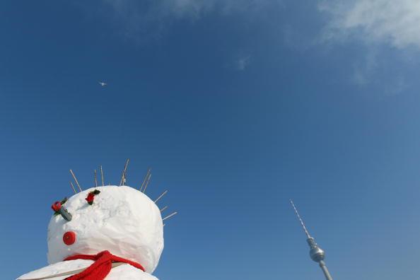 雪だるま「Snowman Performance Against Global Warming」:写真・画像(1)[壁紙.com]