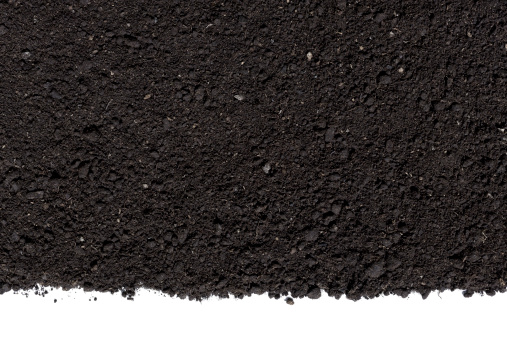 Dark「Humus Soil Background」:スマホ壁紙(3)