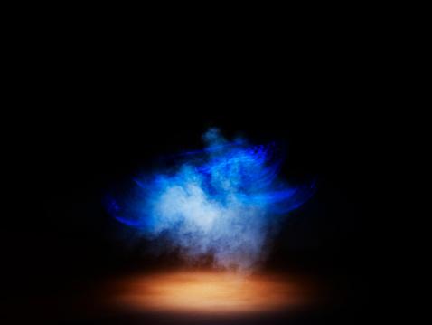 Light Painting「Smoke and Light painting」:スマホ壁紙(15)