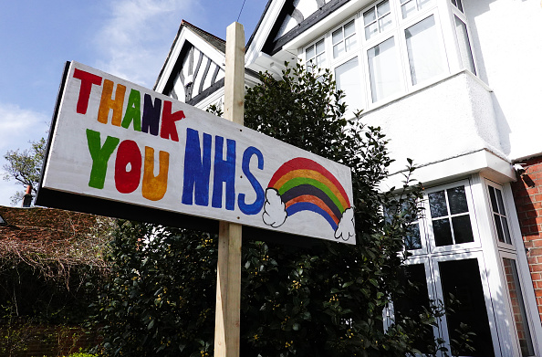 Thank You - Phrase「UK Remains On Lockdown Due To Coronavirus As Infection Rate Appears To Slow」:写真・画像(6)[壁紙.com]