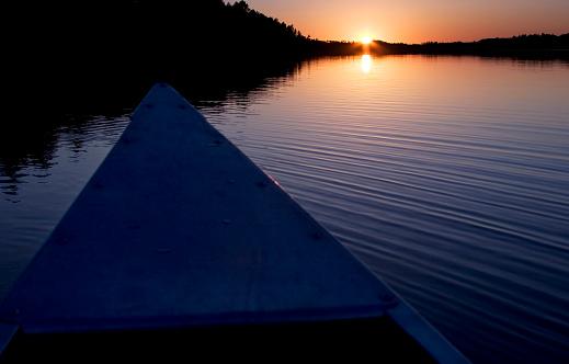 Canoeing「Canoeing At Sundown」:スマホ壁紙(18)