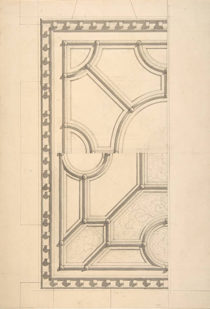Two Designs For A Ceiling:ニュース(壁紙.com)