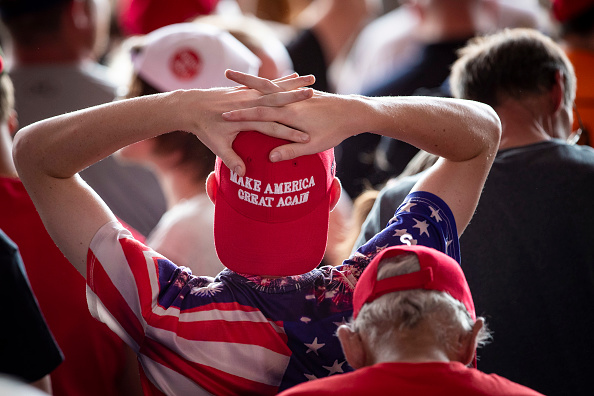 "MAGA「Donald Trump Holds ""MAGA"" Rally In Central Pennsylvania」:写真・画像(2)[壁紙.com]"