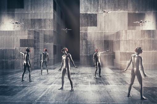 キャラクター「Virtual reality society」:スマホ壁紙(7)