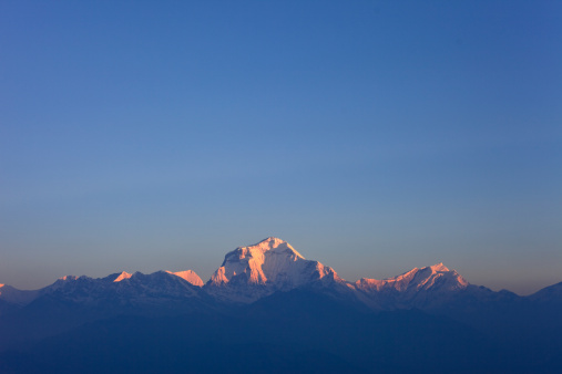 Annapurna Conservation Area「The Dhaulagiri Range as seen from Poon Hill, Nepal.」:スマホ壁紙(14)
