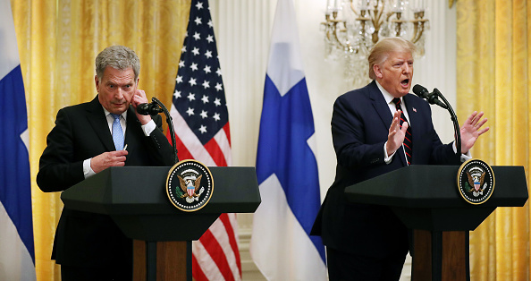 Finland「President Trump Hosts The President Of Finland At The White House」:写真・画像(2)[壁紙.com]