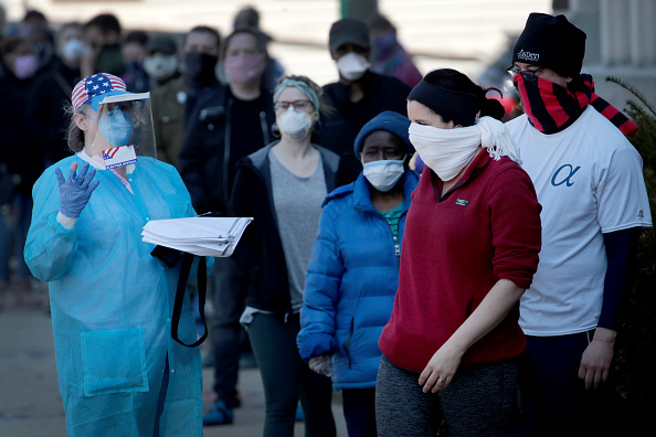 Wisconsin「Wisconsin Election Proceeds Despite Stay-At-Home Order During Coronavirus Pandemic」:写真・画像(0)[壁紙.com]