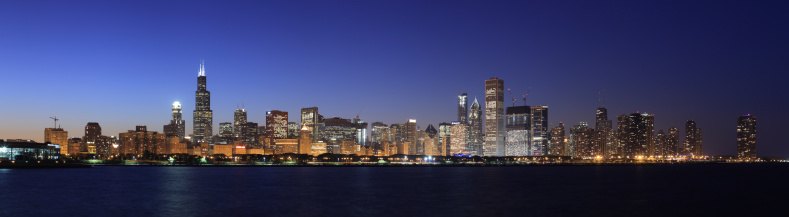 Great Lakes「Chicago Skyline, Illinois」:スマホ壁紙(9)