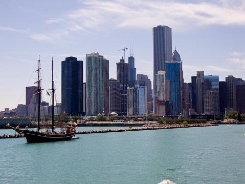Great Lakes「Chicago skyline」:スマホ壁紙(8)