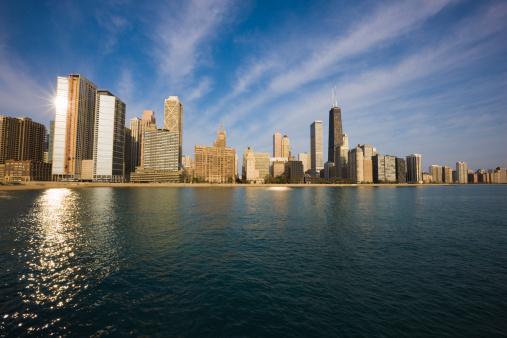 Great Lakes「Chicago skyline」:スマホ壁紙(9)