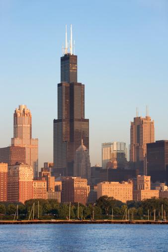 Great Lakes「Chicago skyline」:スマホ壁紙(15)