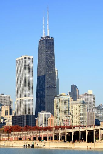 Great Lakes「Chicago Skyline and Hancock Building」:スマホ壁紙(7)