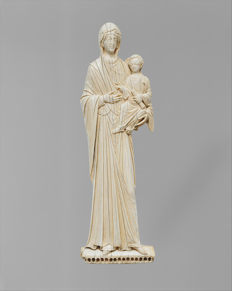 Sculpture「Icon With The Virgin And Child」:写真・画像(0)[壁紙.com]