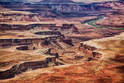 Colorado River「Utah Canyon Landscape Detail」:スマホ壁紙(9)