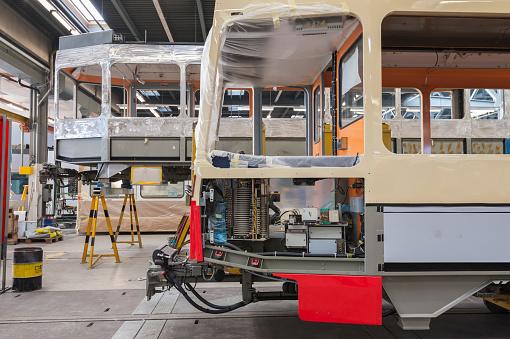 Restoring「Tramway train maintenance garage (Public Transport / VBZ Zurich)」:スマホ壁紙(0)