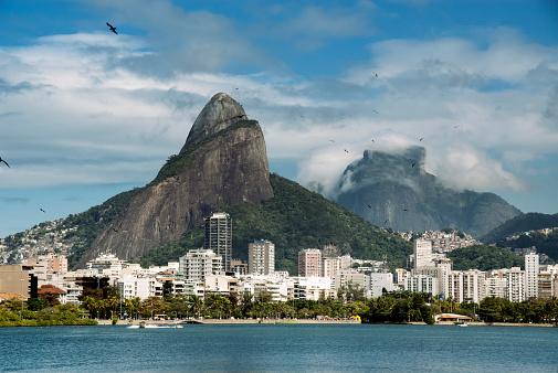 Rio「Lagoa Rodrigo de Freitas」:スマホ壁紙(2)