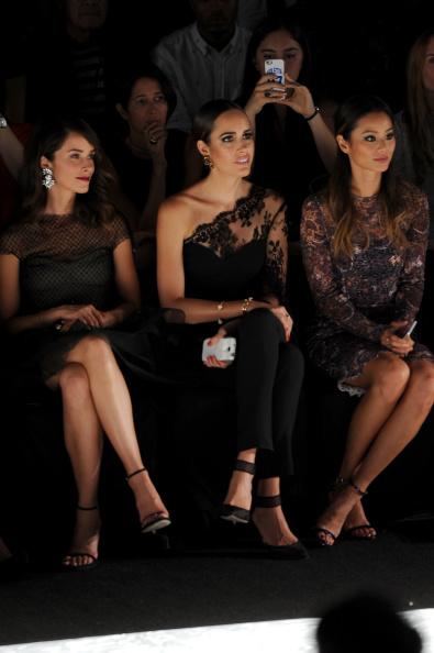 Jamie Spencer「Monique Lhuillier - Front Row - Mercedes-Benz Fashion Week Spring 2015」:写真・画像(17)[壁紙.com]