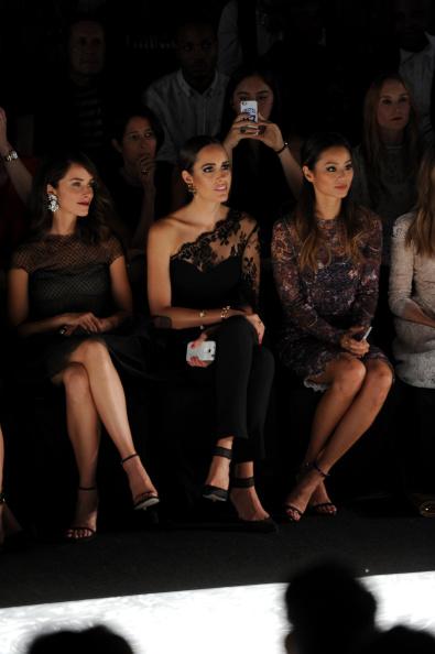 Jamie Spencer「Monique Lhuillier - Front Row - Mercedes-Benz Fashion Week Spring 2015」:写真・画像(19)[壁紙.com]