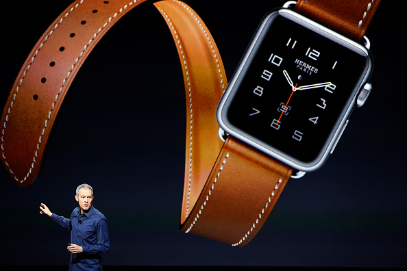 Apple Watch「Apple Unveils New Versions Of iPhone 6, Apple TV」:写真・画像(1)[壁紙.com]