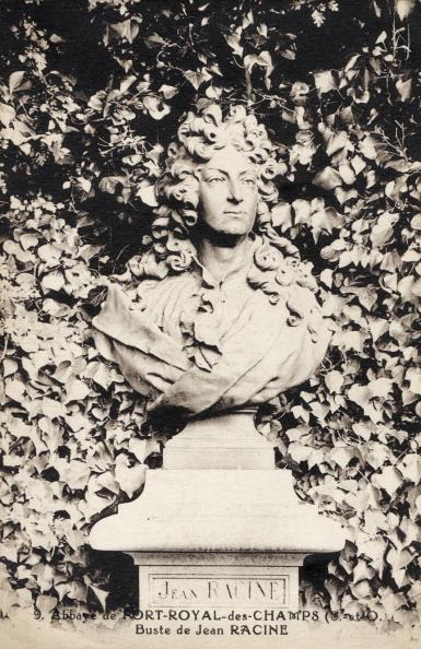 作家「Jean Baptiste Racine, bust, in the Abbey of Port-Royal-des-Champs. French dramatist」:写真・画像(14)[壁紙.com]