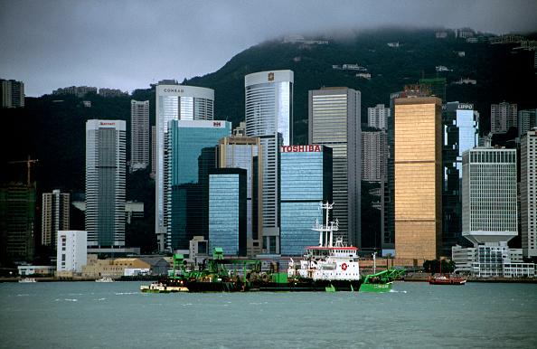 風景「Victoria Harbour, Hong Kong, China」:写真・画像(13)[壁紙.com]