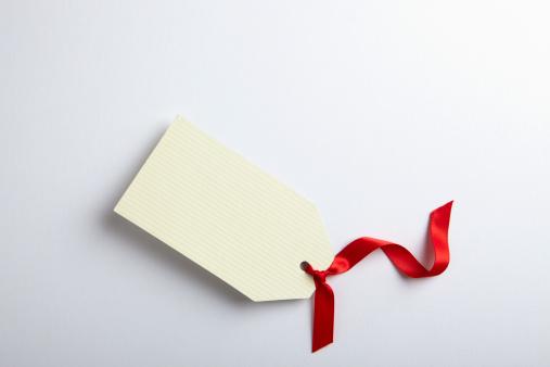 プレゼント「Blank gift tag with red ribbon」:スマホ壁紙(15)