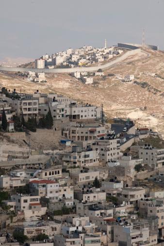 West Bank「West Bank Barrier Wall in Jerusalem, Israel」:スマホ壁紙(7)