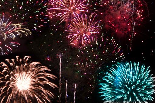花火大会「Orange County Fireworks」:スマホ壁紙(15)