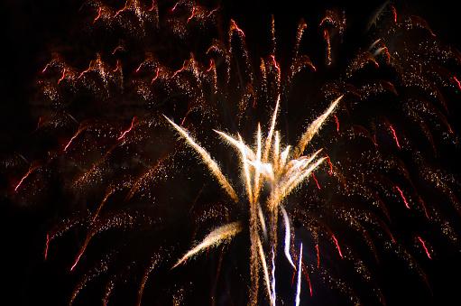 花火大会「Orange County Fireworks」:スマホ壁紙(14)