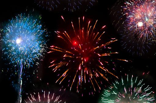 花火大会「Orange County Fireworks」:スマホ壁紙(17)