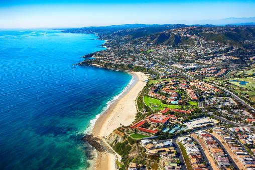 California「Orange County Coastline Aerial」:スマホ壁紙(9)