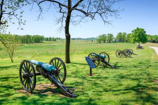Pennsylvania「cannons at Gettysburg National Military Park」:スマホ壁紙(9)