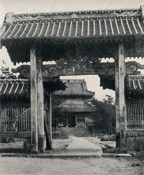 千葉県「''Gates of the Tanjo-ji temple, dedicated to Nichiren', c1900, (1921)」:写真・画像(19)[壁紙.com]