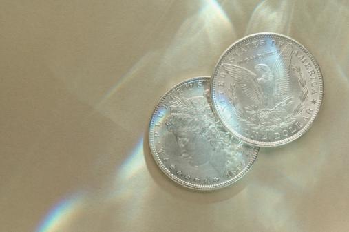 硬貨「Dollars」:スマホ壁紙(4)