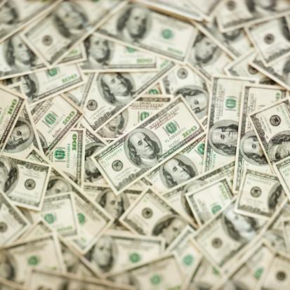 Paper Currency「US dollars」:スマホ壁紙(18)