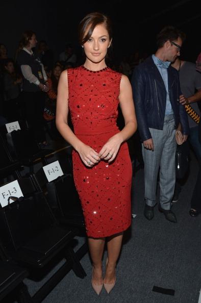 Pencil Dress「Jenny Packham - Front Row - Spring 2013 Mercedes-Benz Fashion Week」:写真・画像(7)[壁紙.com]