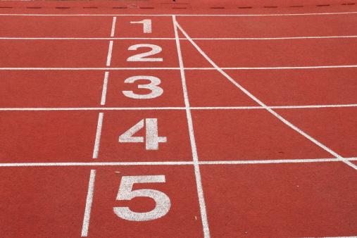Number 4「Running Track」:スマホ壁紙(17)