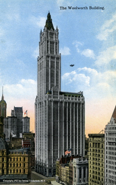 City Life「New York: The Woolworth Building」:写真・画像(3)[壁紙.com]