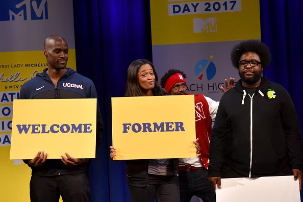エメカ オカフォー「MTV's 2017 College Signing Day With Michelle Obama - Inside」:写真・画像(11)[壁紙.com]
