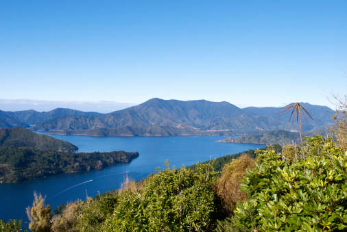New Zealand Culture「Kenepuru Sound, Marlborough Sounds, New Zealand」:スマホ壁紙(14)