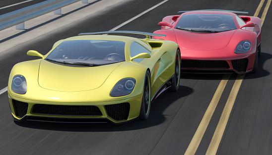Overtaking「Street Racing」:スマホ壁紙(4)