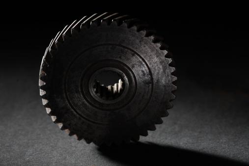 Focus On Foreground「A gear wheel」:スマホ壁紙(14)