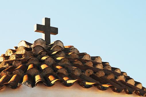 パトモス島「Tiled roof」:スマホ壁紙(12)